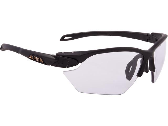 Alpina Twist Five HR S VL+ Glasses black matt
